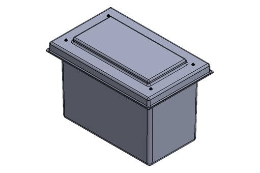 PW90.FE 90 litres 775 x 475 x 560mm high